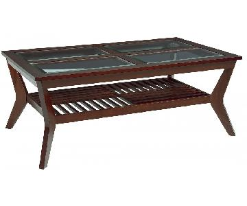 Standard Furniture Norway Coffee Table + 2 End Tables