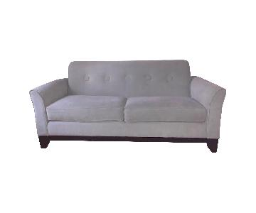 La-Z-Boy Sofa + Matching Chair & Ottoman in Sea foam