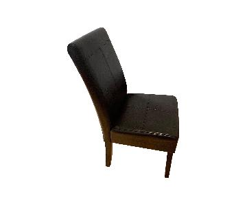 Vegan Leather Highback Chairs