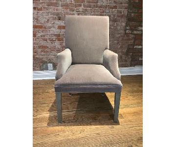 Restoration Hardware Hudson Parson Velvet Dining Chairs