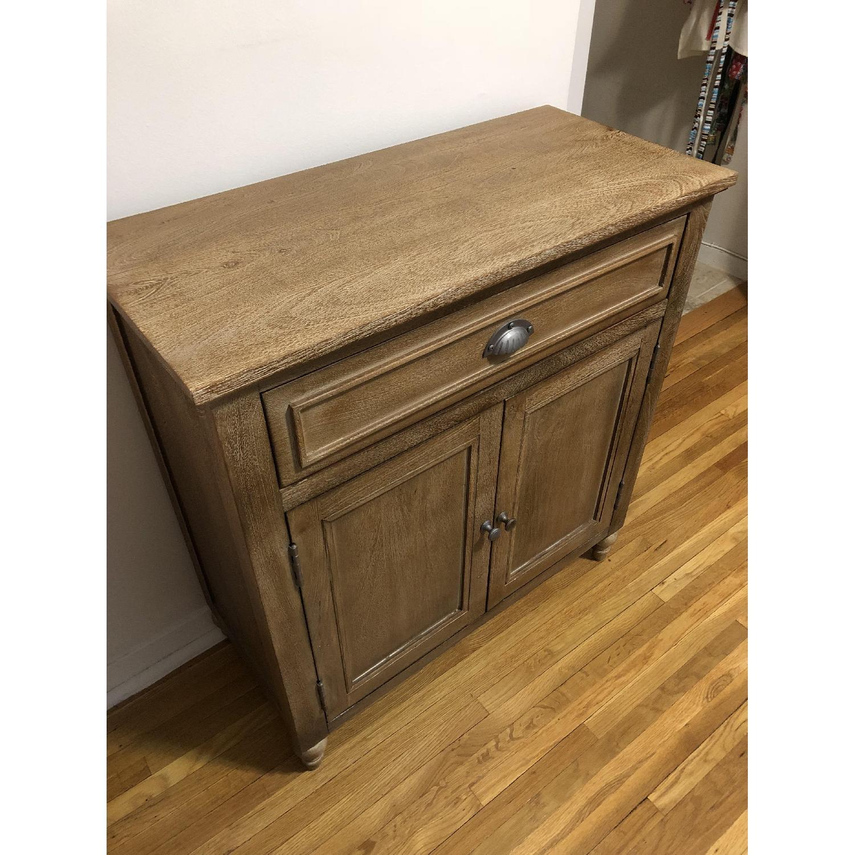 Pottery Barn Astoria Storage Cabinet - AptDeco