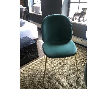 Gubi Beetle Upholstered Dining Chairs