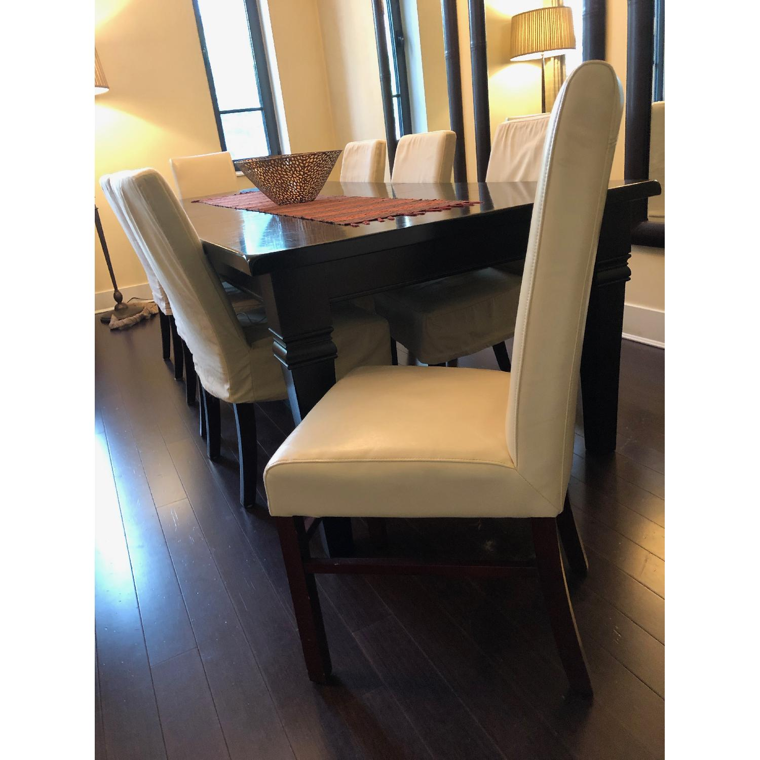 Pottery Barn 9 Piece Expandable Dining Set