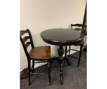 High Top Table w/ 2 Chairs