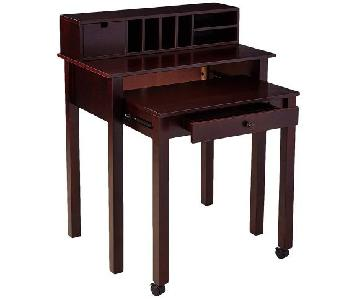 Space-Saving Writing Desk w/ Extendable Desk