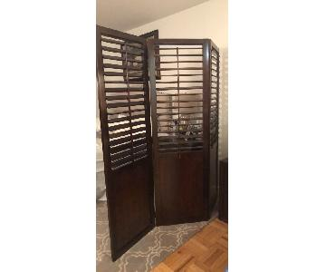 Pier 1 French Inspired Privacy Screen