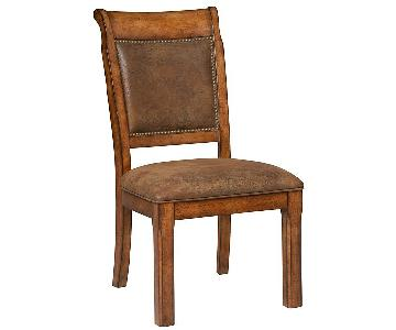 Macy's Mandara Wood Dining Chair