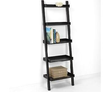 The Container Store Linea Leaning Bookcase