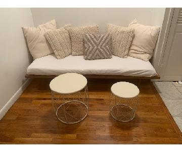 Round Stackable Side Tables