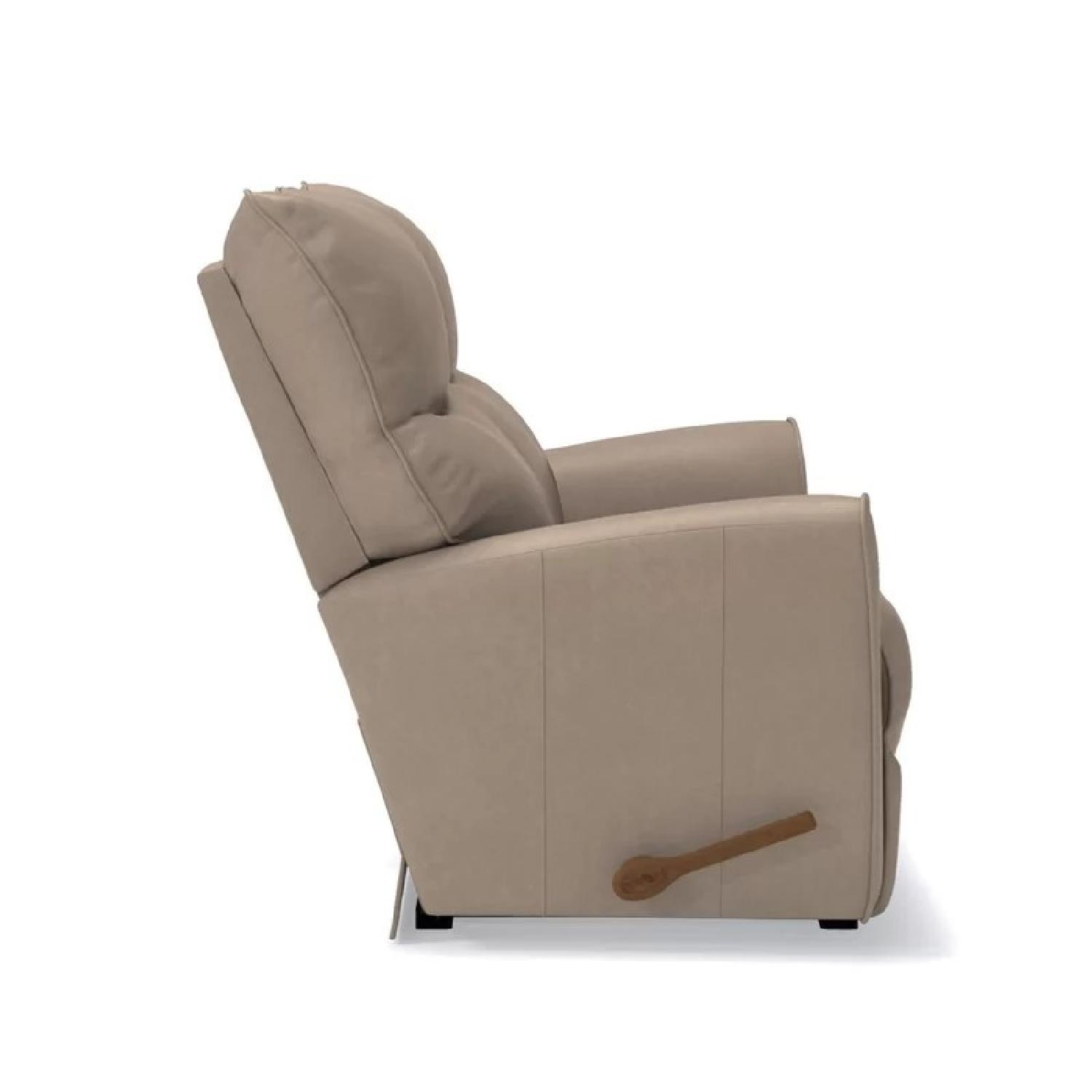 Super La Z Boy Rowan Leather Double Recliner Loveseat Aptdeco Caraccident5 Cool Chair Designs And Ideas Caraccident5Info