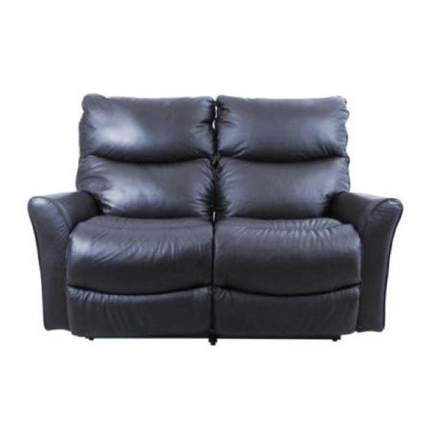 Cool La Z Boy Rowan Leather Double Recliner Loveseat Aptdeco Creativecarmelina Interior Chair Design Creativecarmelinacom