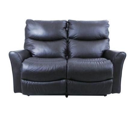 La-Z-Boy Rowan Leather Double Recliner Loveseat