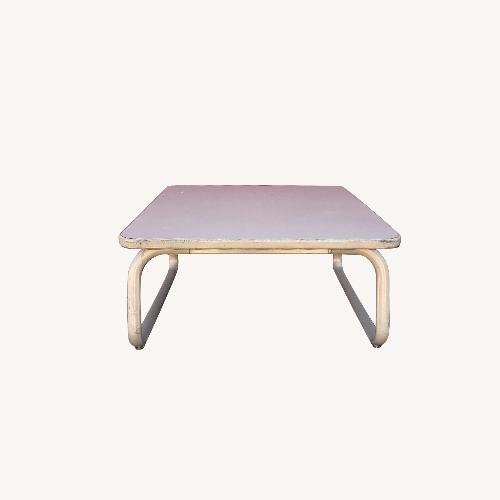 Used Steelcase 1980s Industrial Style Coffee Table for sale on AptDeco