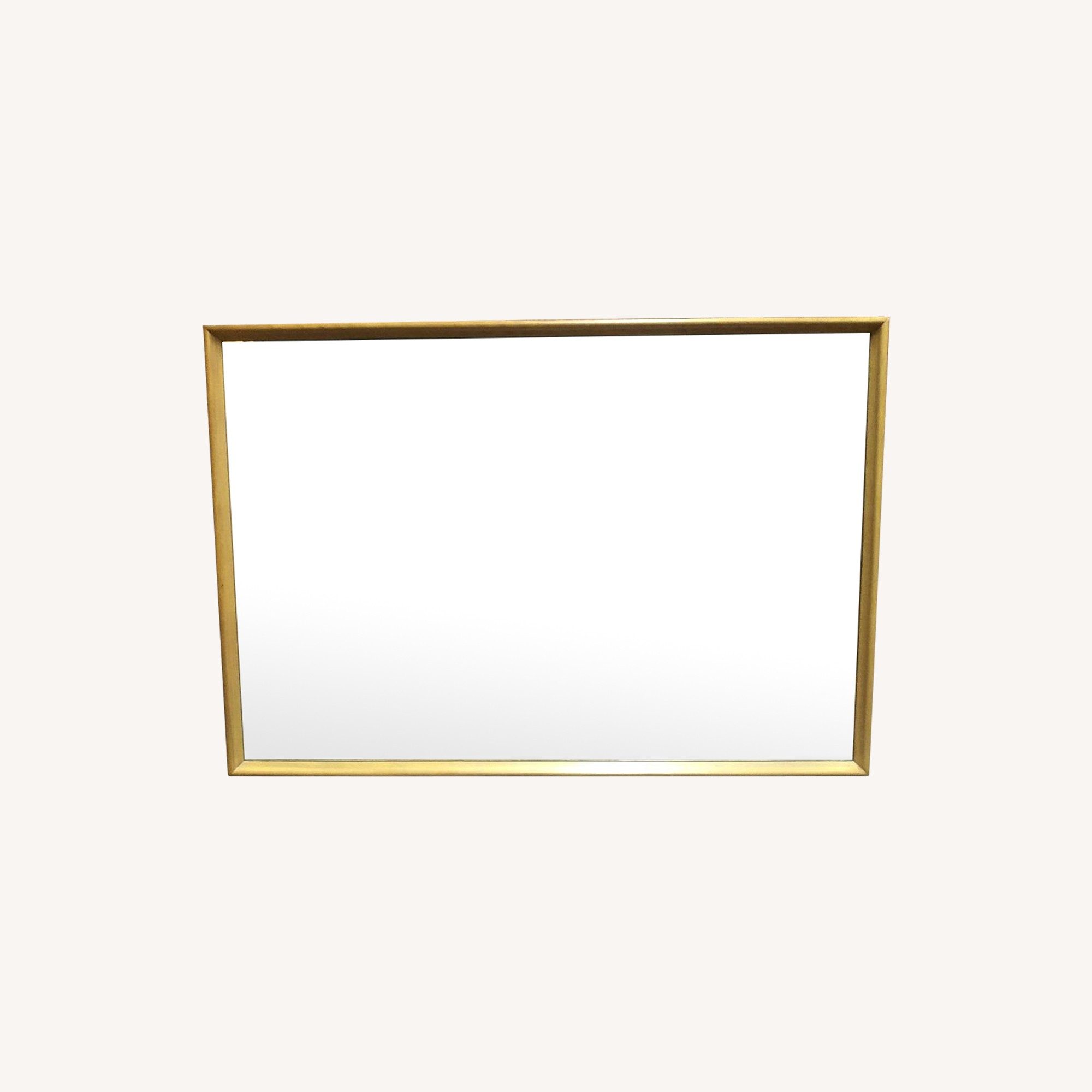 Heywood Wakefield Mid Century Modern Wall Mirror Aptdeco