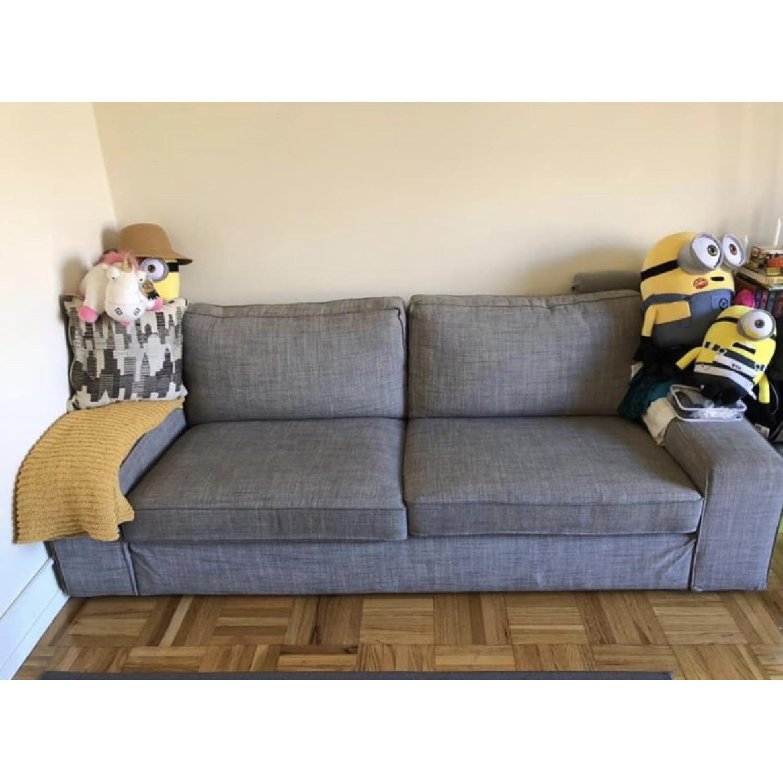Enjoyable Ikea Gray Kivik Sofa Aptdeco Pdpeps Interior Chair Design Pdpepsorg