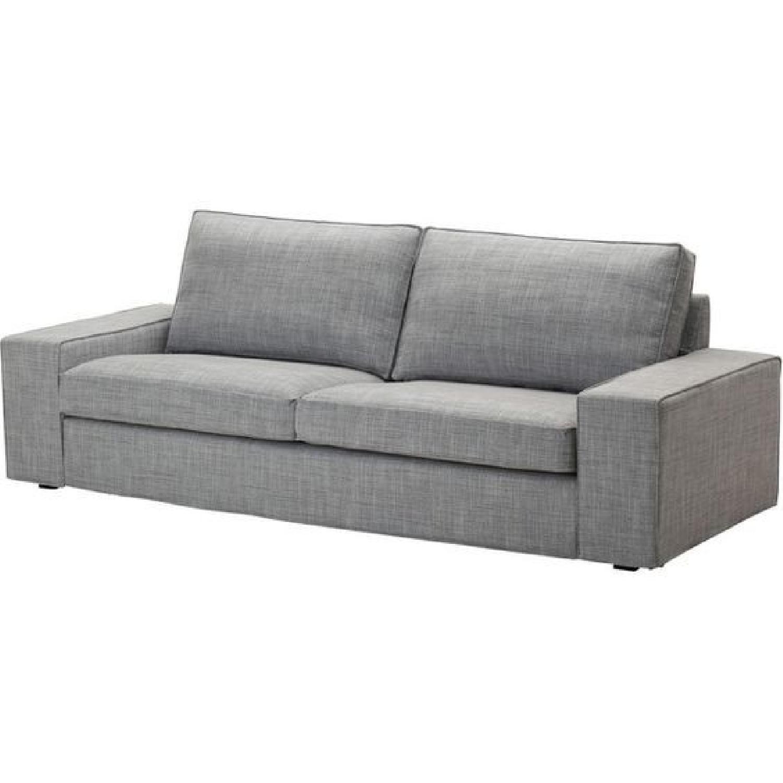 Super Ikea Gray Kivik Sofa Aptdeco Pabps2019 Chair Design Images Pabps2019Com