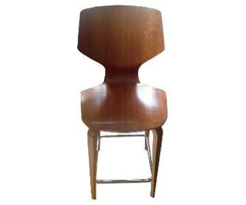 Room & Board Pike Counter Stool w/ Wood Base