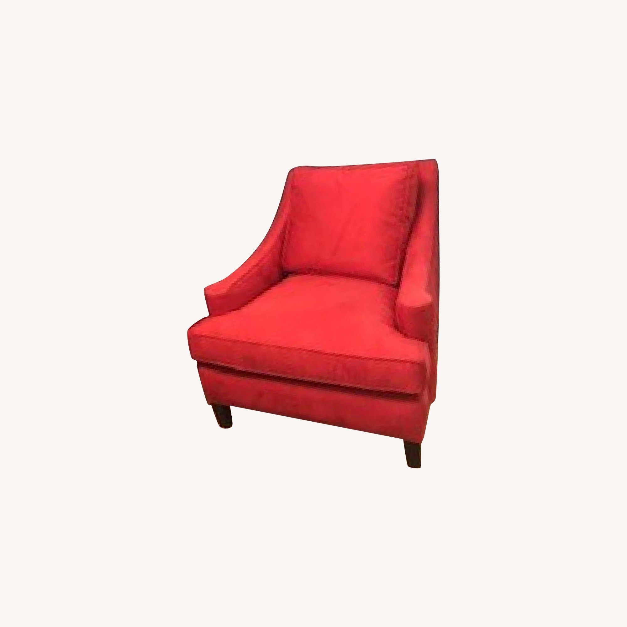 Restoration Hardware Red Accent Chairs