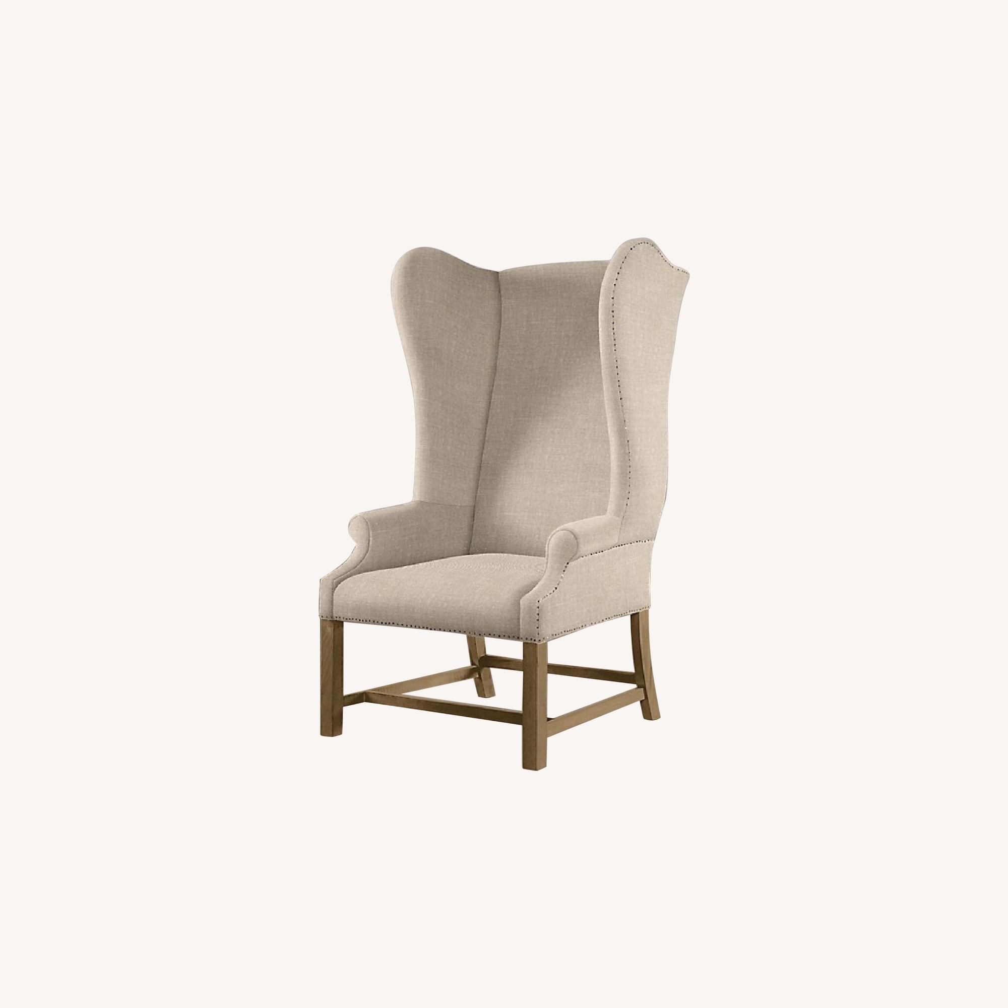 Restoration Hardware French Wing Back Lounge Chair