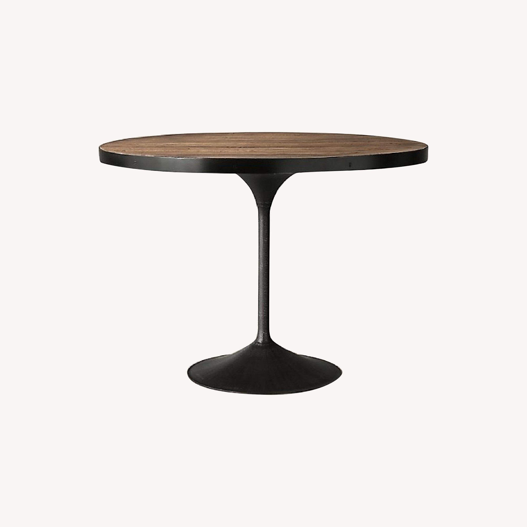 Restoration Hardware Round Wood Dining Table