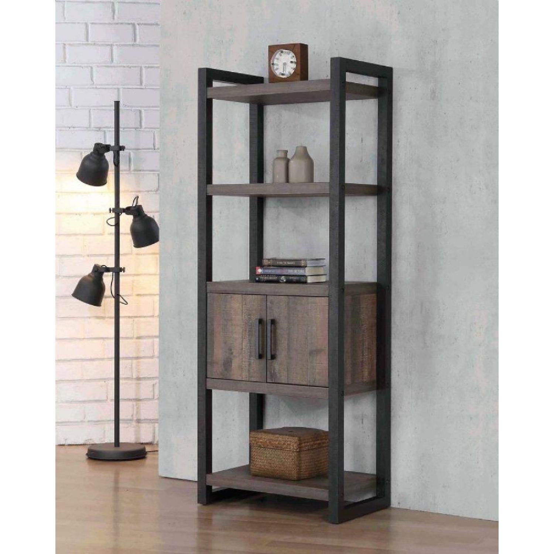 Rustic Bookcase w/ 2-Doors - image-3