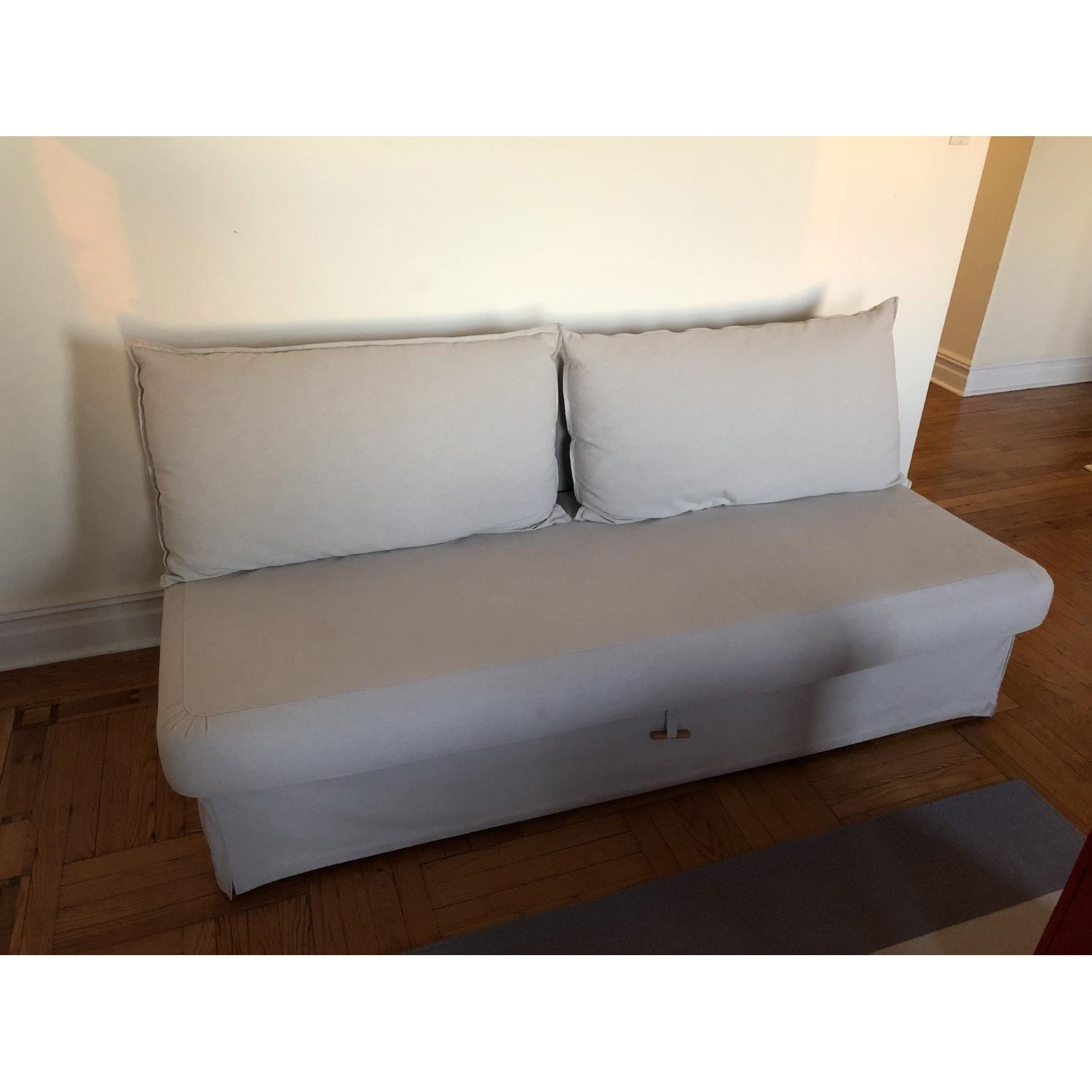 Superb Ikea Himmene Sleeper Sofa Aptdeco Gmtry Best Dining Table And Chair Ideas Images Gmtryco
