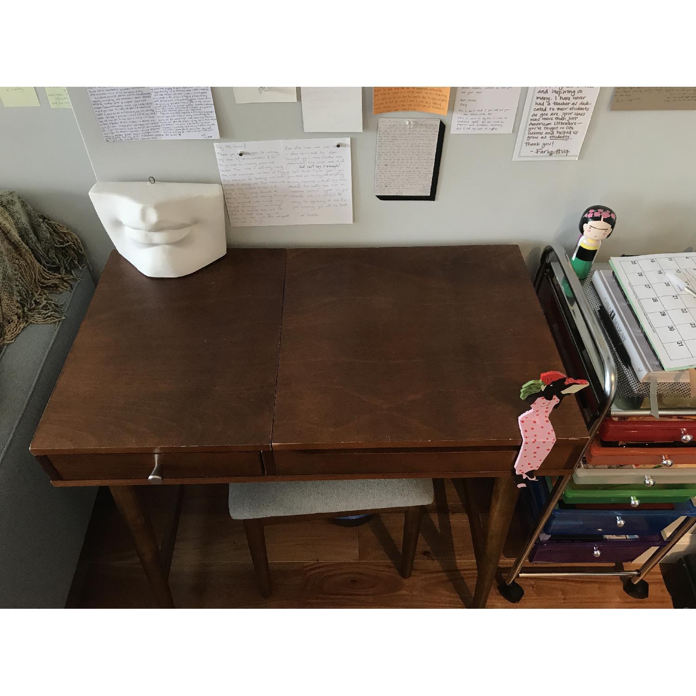 Target Mid Century Vanity Desk Stool Aptdeco