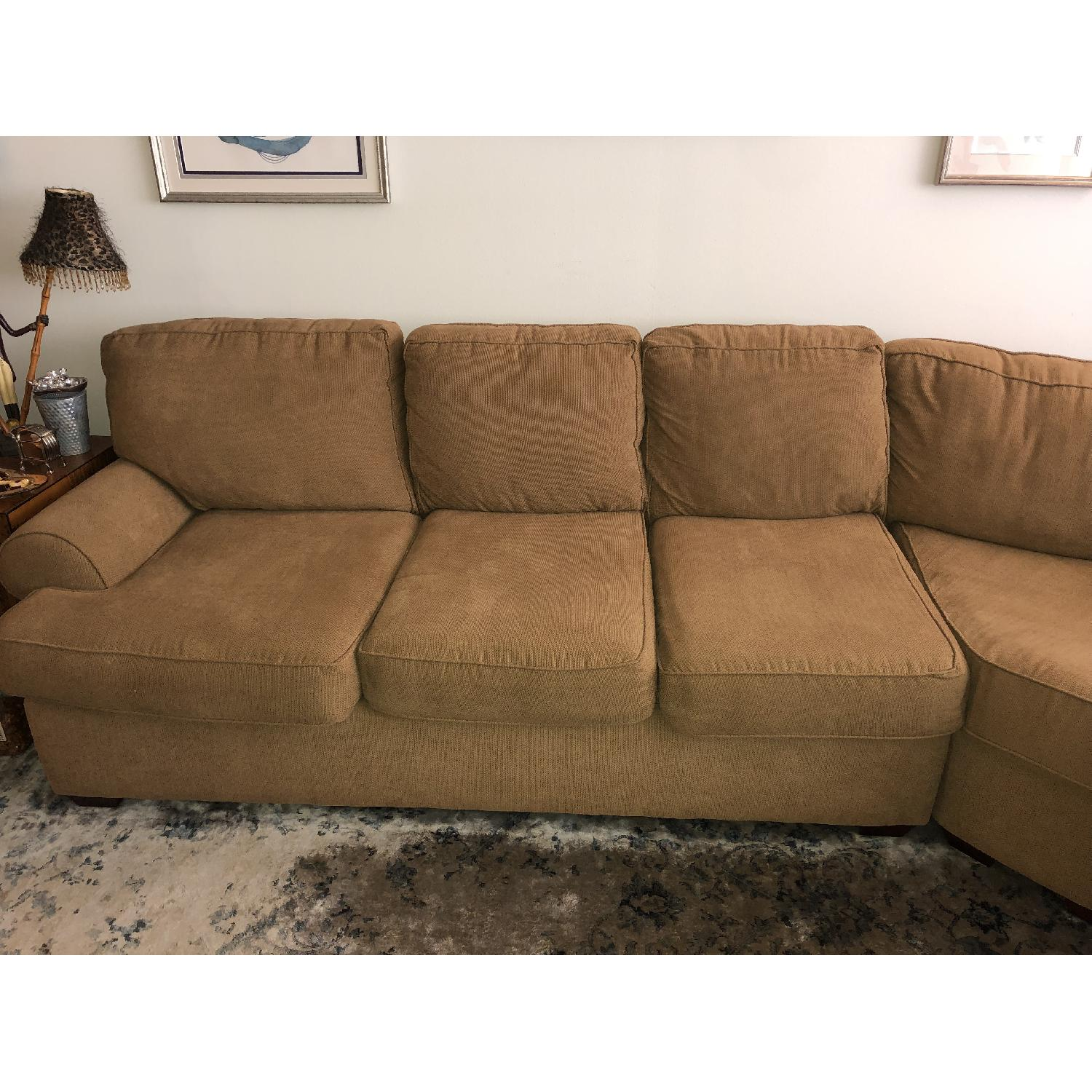 Klaussner Troupe 3 Piece Sectional Sofa