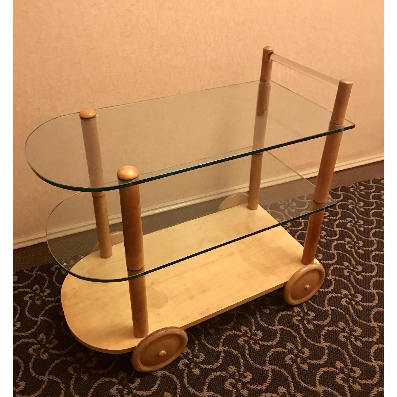 Vintage Gilbert Rohde Bar Cart - image-1
