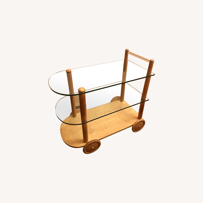 Vintage Gilbert Rohde Bar Cart - image-0