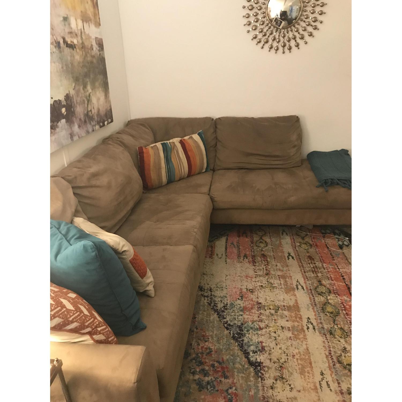 Jennifer Convertibles Haney 2 Piece Sectional Sofa Aptdeco
