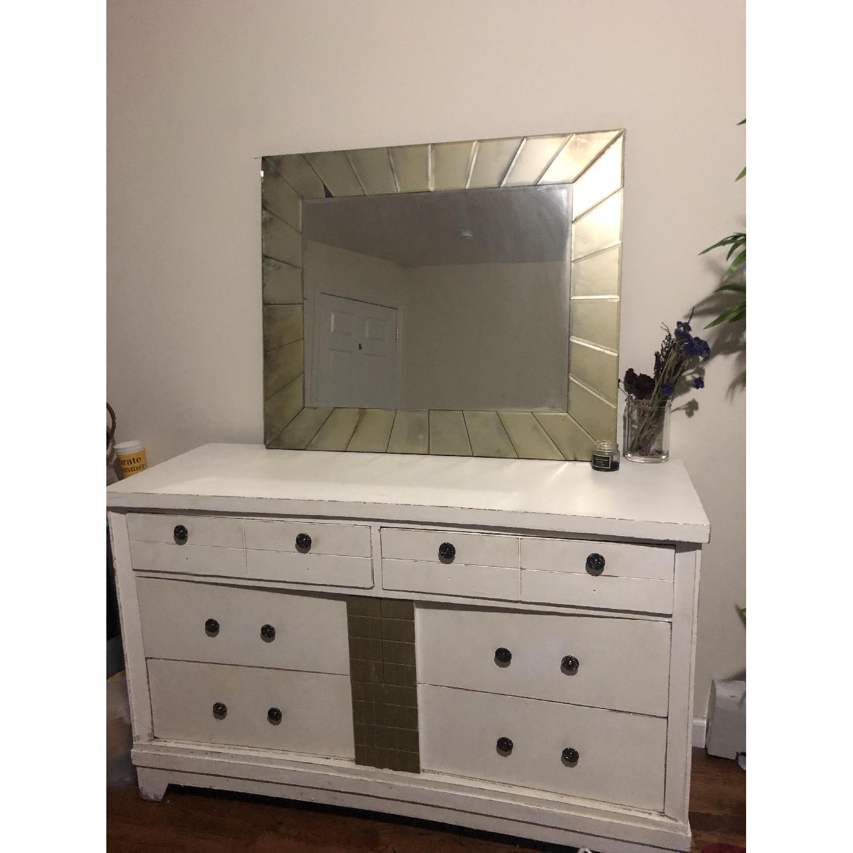White 6 Drawer Dresser Aptdeco