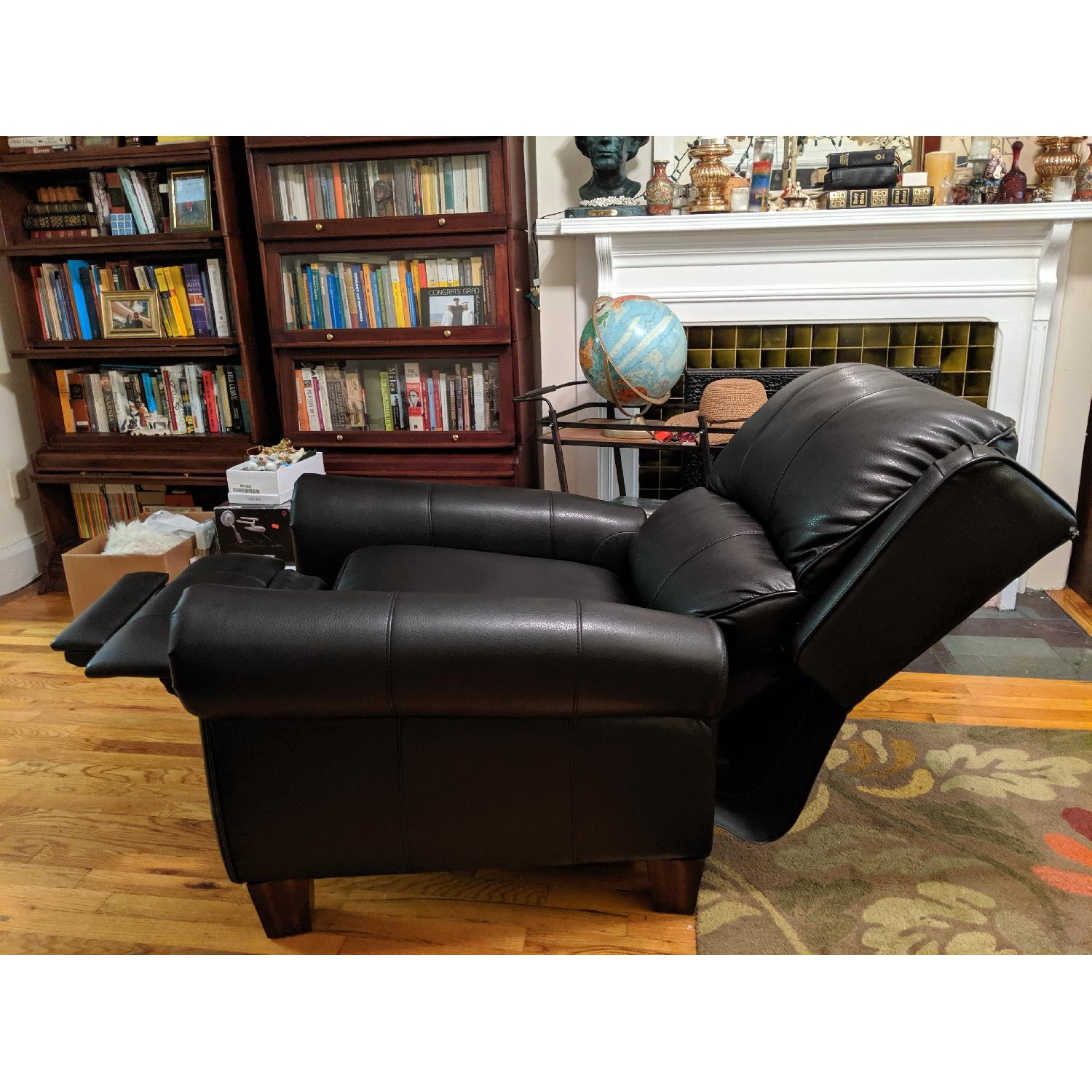 Cool Abbyson Living Whitley Black Leather Recliner Aptdeco Gmtry Best Dining Table And Chair Ideas Images Gmtryco