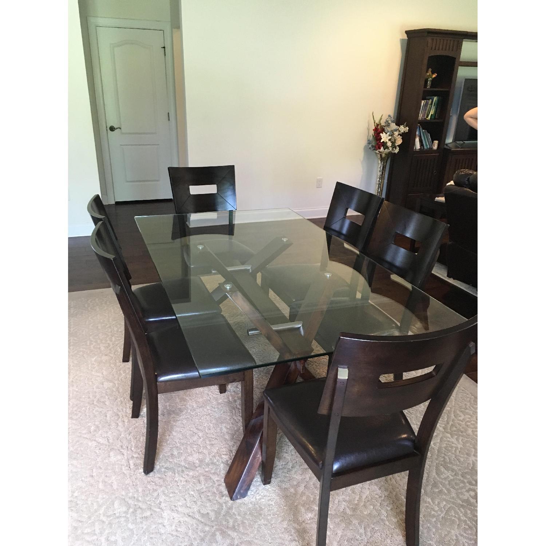 American Signature Furniture 7 Piece Dining Set Aptdeco