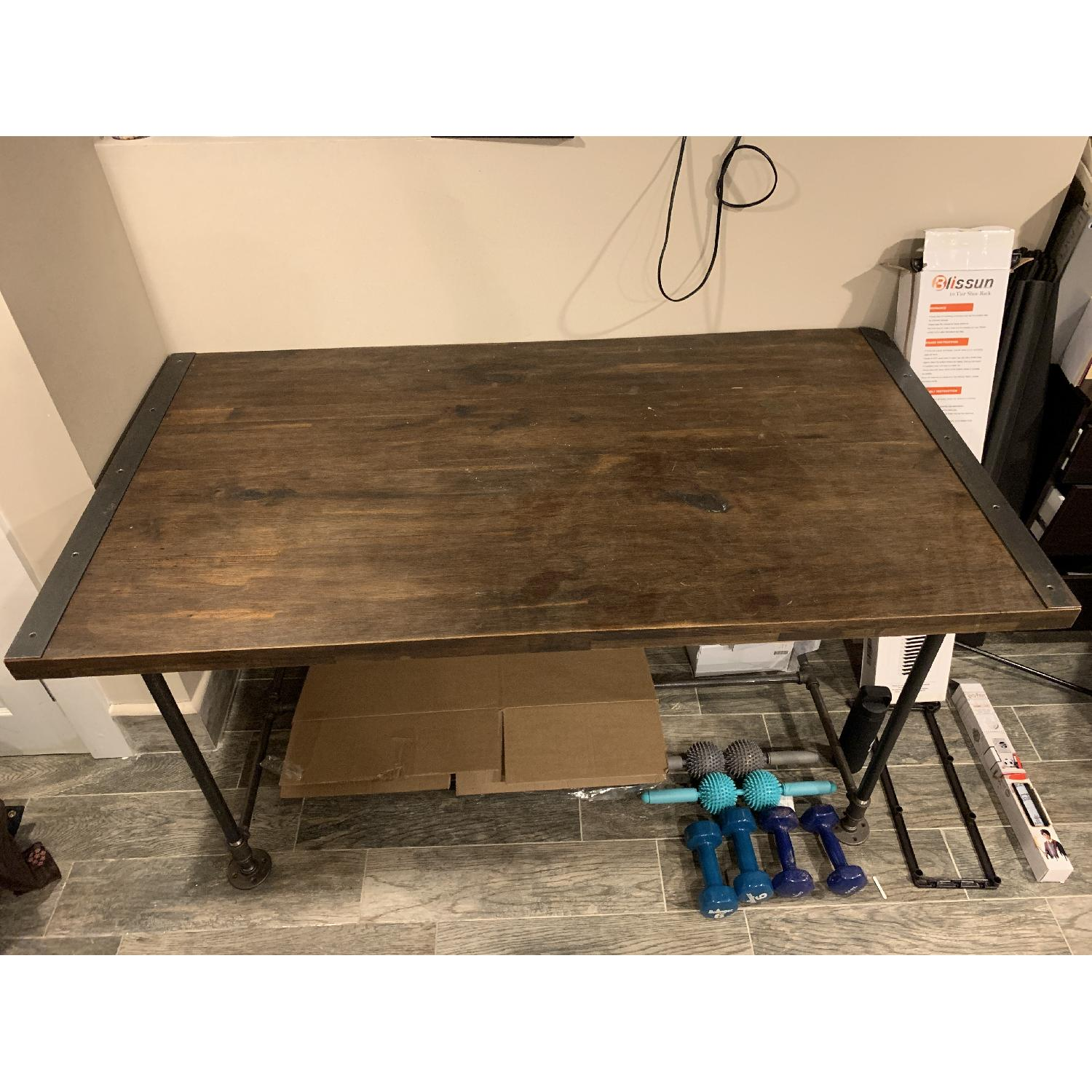 Coffee Table To Dining Table.Reclaimed Wood Dining Table