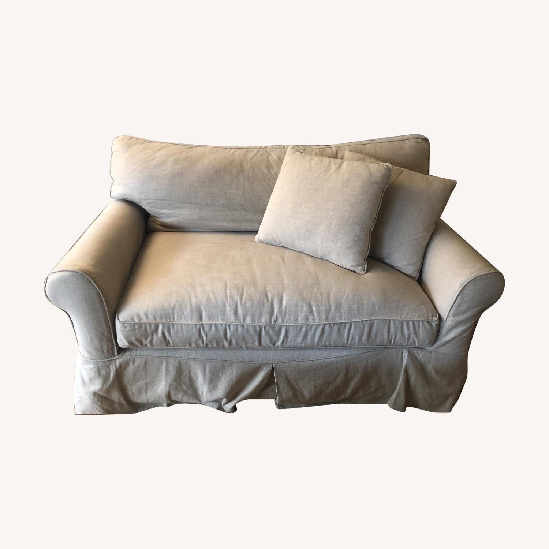West Elm Henry Basic Gray Twin Sleeper Sofa