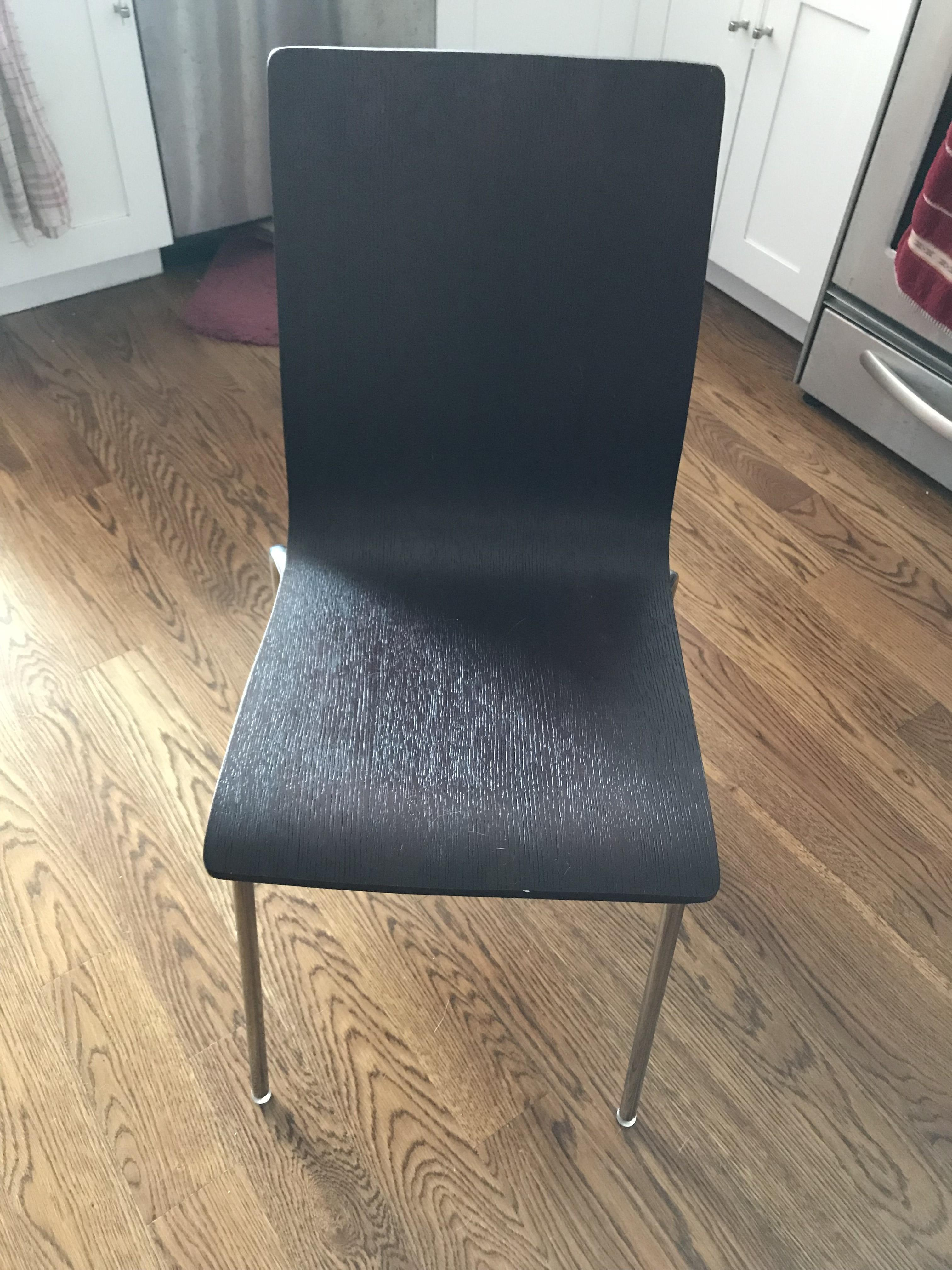 Restoration Hardware Wood & Metal Dining Chairs