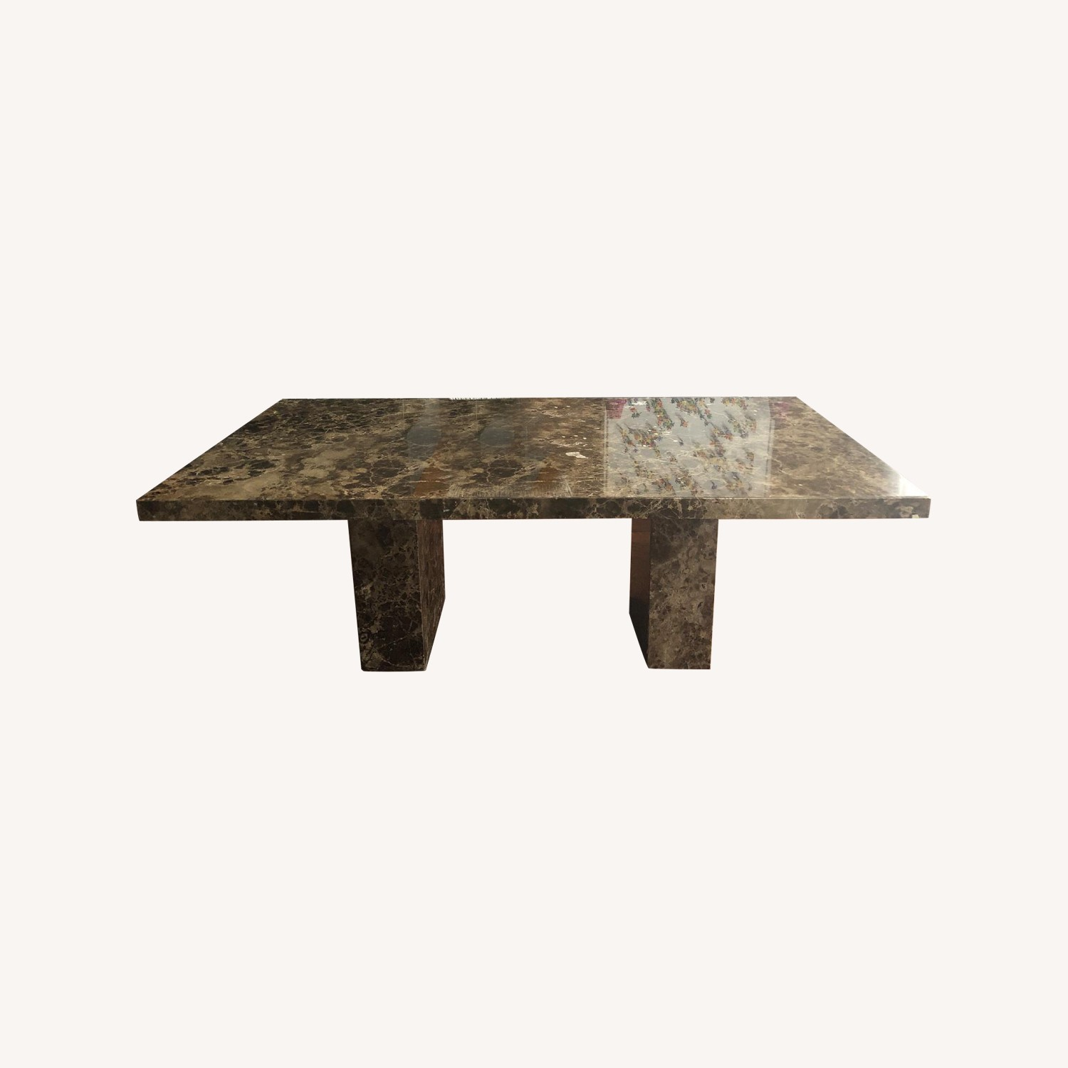 Maurice Villency Marble Dining Table