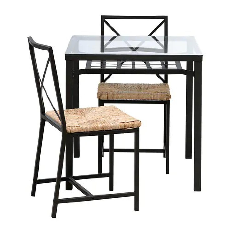 Ikea Stornas Bar Height Table W 4 Stools Aptdeco