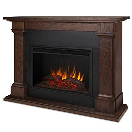 Real Flame Indoor Fireplace & Mantle