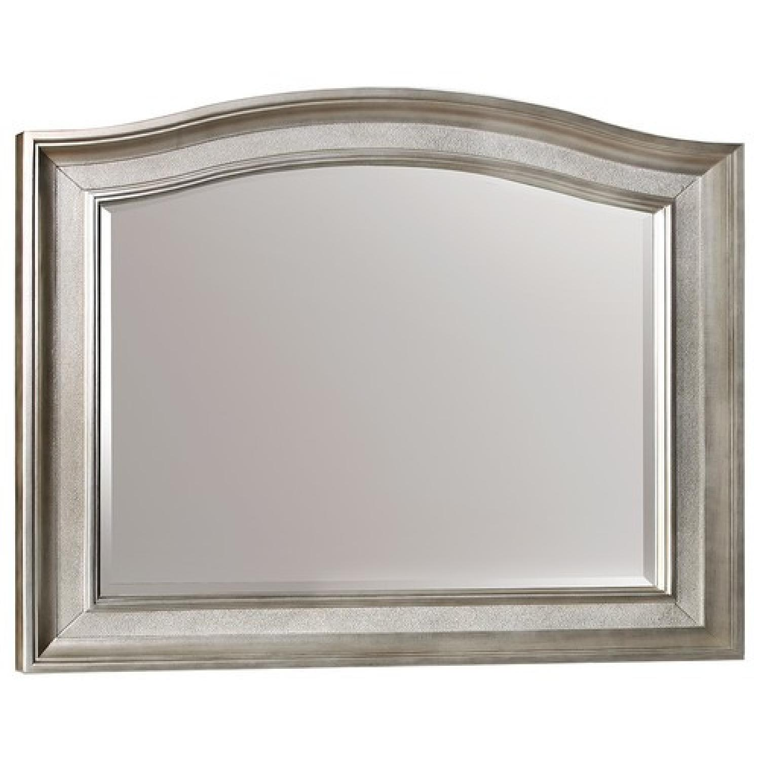 Hollywood Bling Game Mirror w/ Arched Top