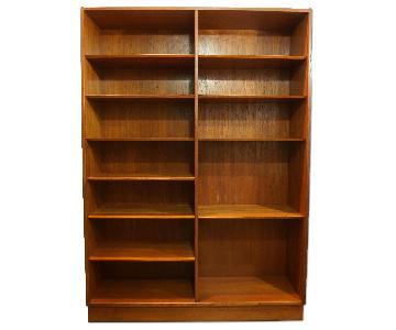 Hundevad Danish Modern Teak Bookcase
