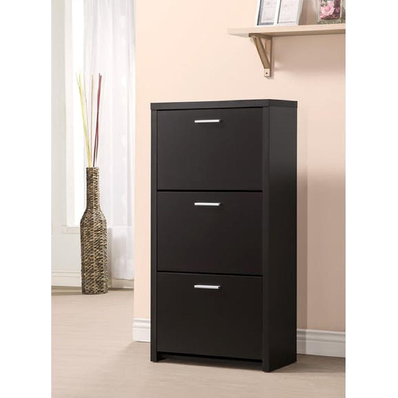 6-Drawer Storage Bench in White & Grey Finish - image-21