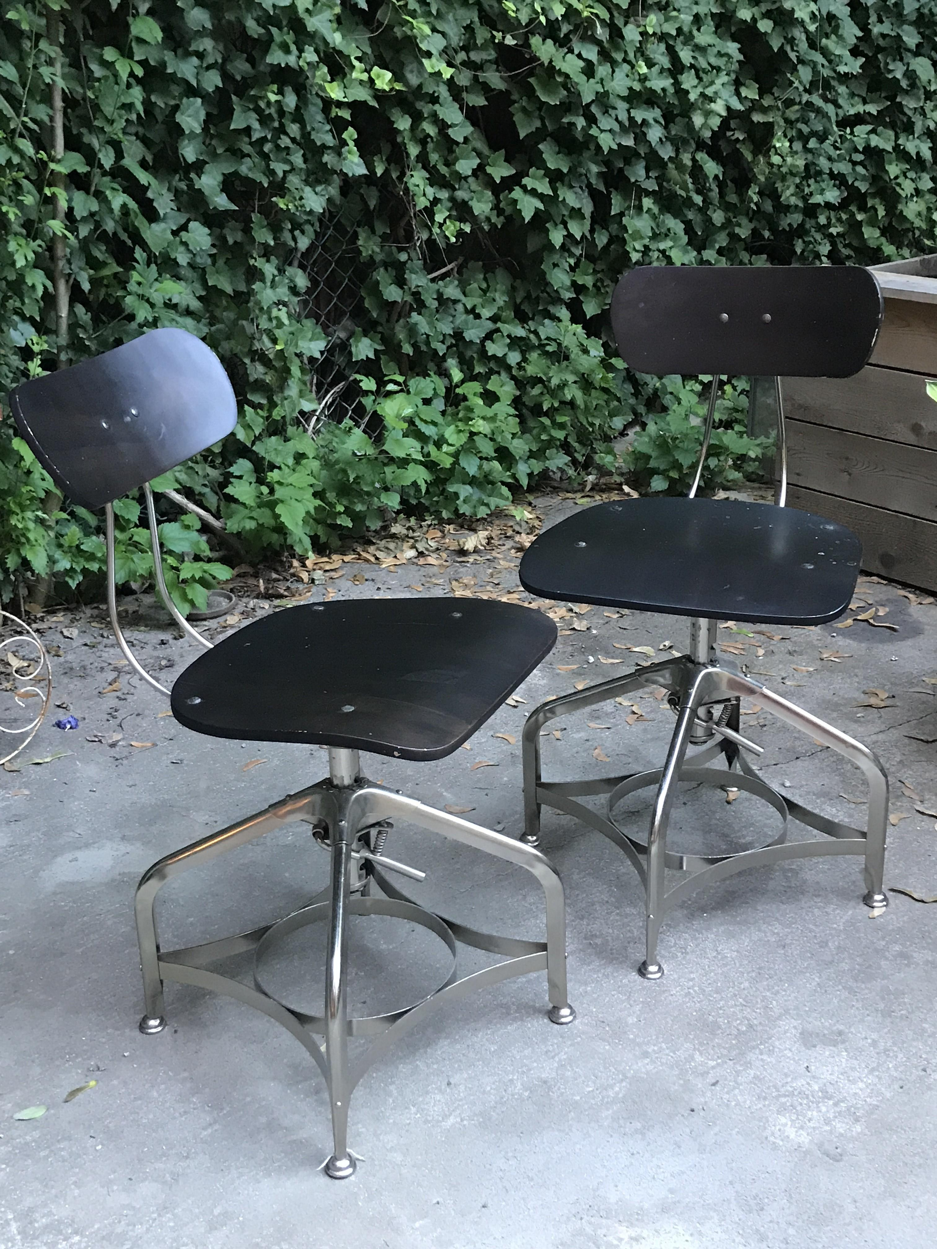 Restoration Hardware 1940s Vintage Toledo Dining Chairs