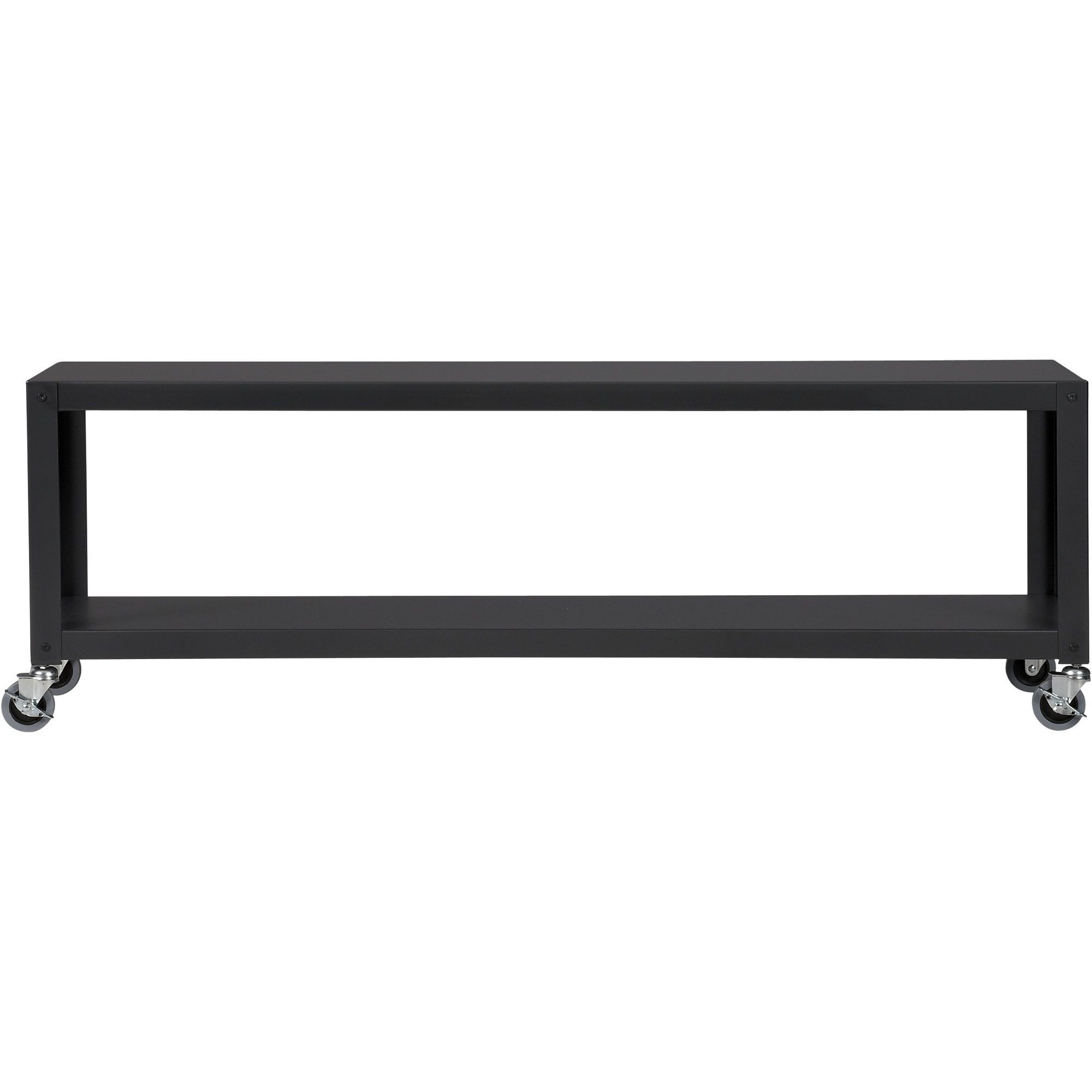 CB2 Go Cart Rolling TV Stand/Coffee Table/Side Table