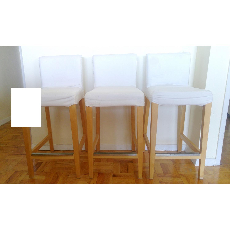 Tremendous Ikea Henriksdal Bar Stools Aptdeco Machost Co Dining Chair Design Ideas Machostcouk