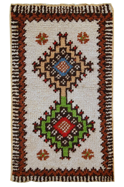 Handmade Vintage Moroccan Berber Rug