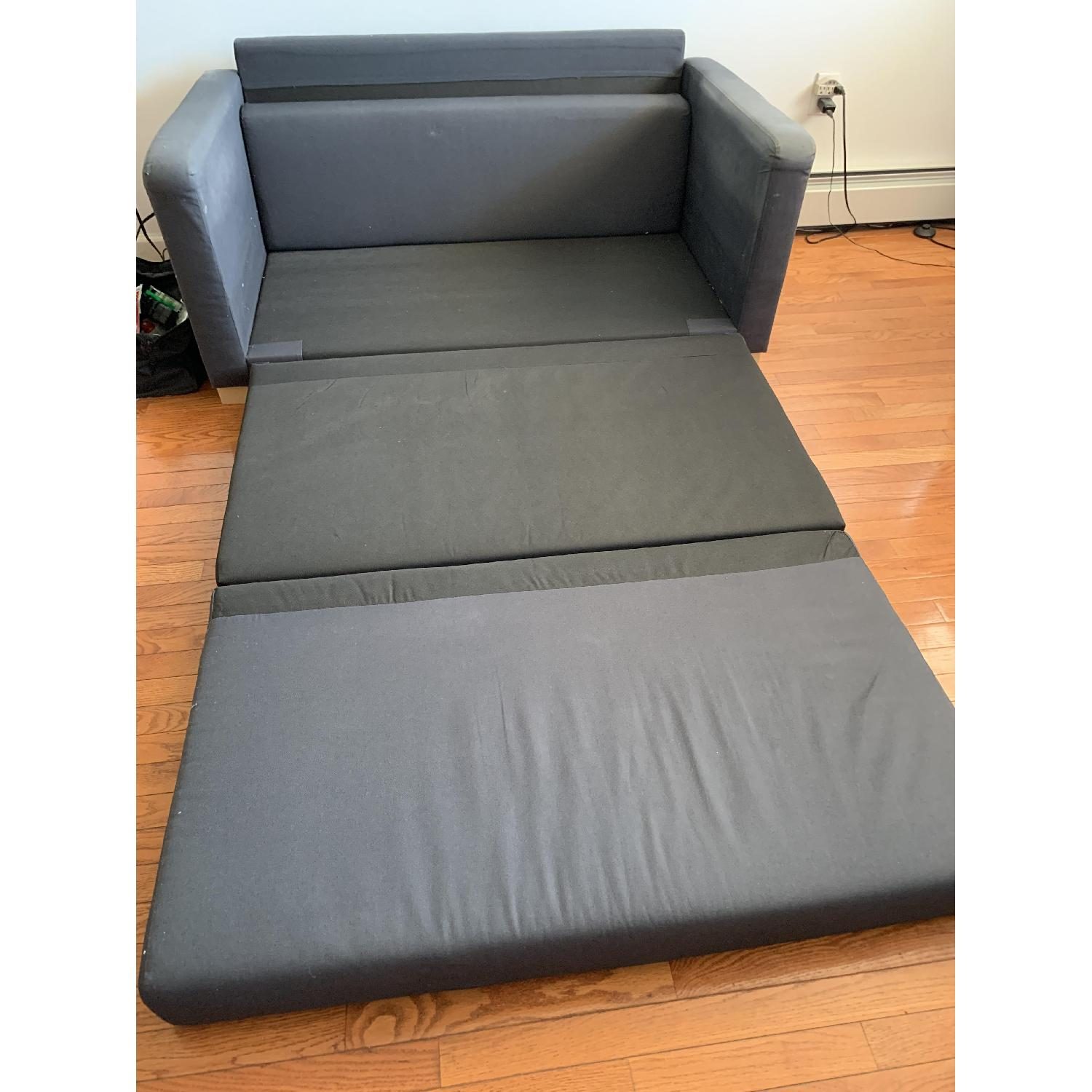Awesome Ikea Solsta Sleeper Sofa Aptdeco Caraccident5 Cool Chair Designs And Ideas Caraccident5Info