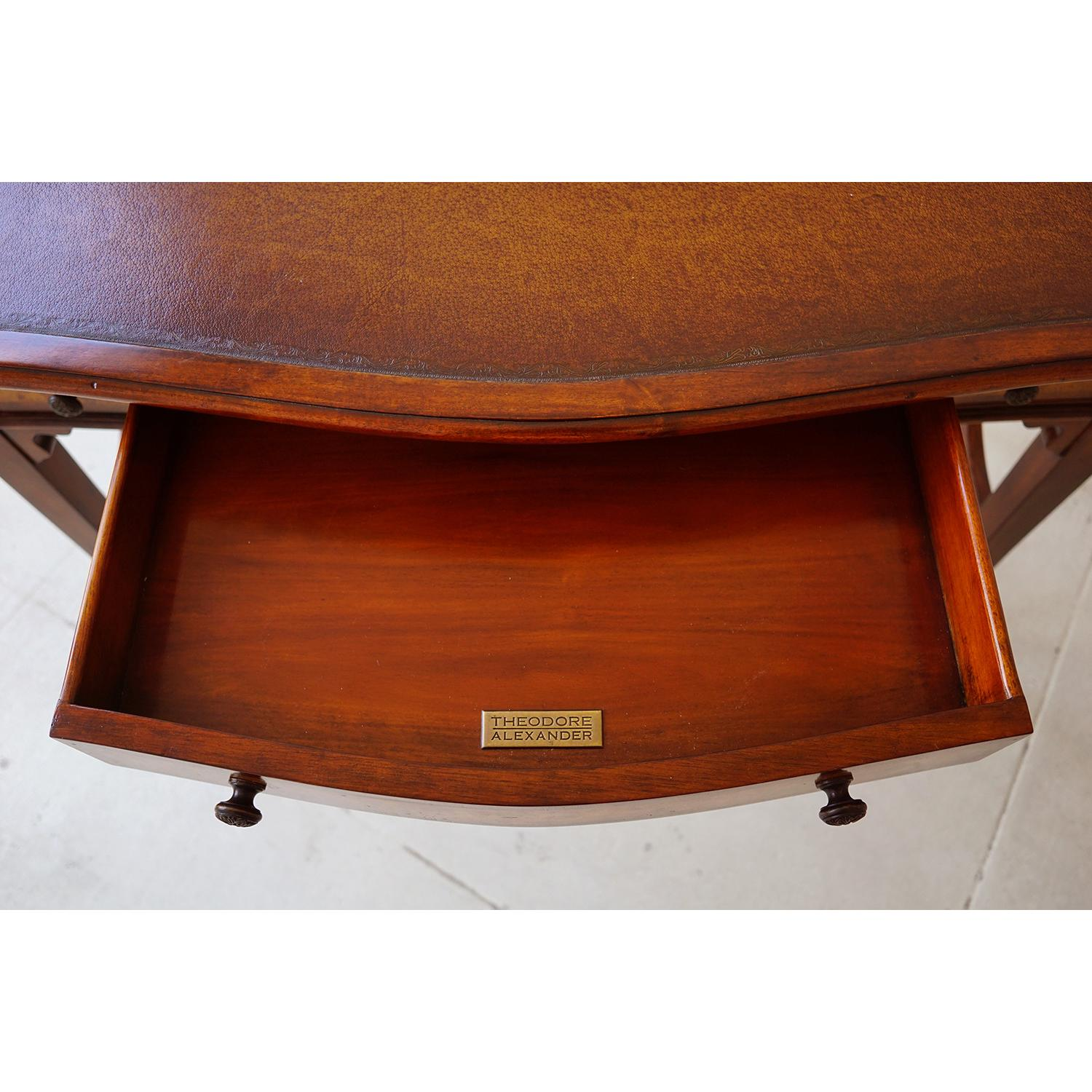 Theodore Alexander Campaign Fold-Out Writing Desk