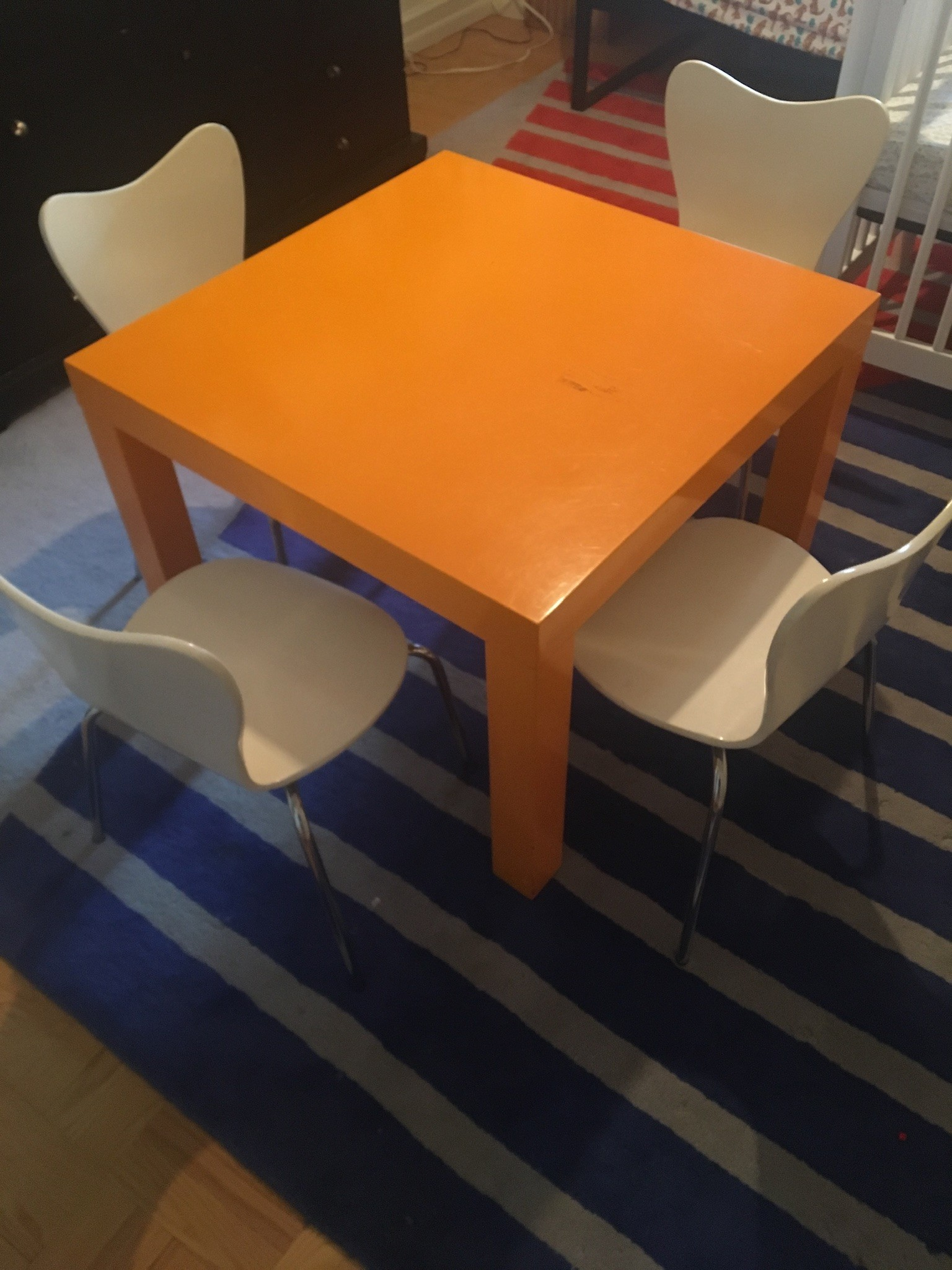 Pottery Barn Kids Activity Table w/ 4 Chairs
